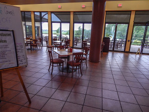 New Palm Court Cafe now opened at South Clubhouse in Kings Point