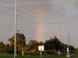 Rainbow on Sun City Center Blvd and 301
