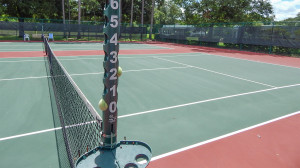 August 2, 2014 - Tennis courts get updated at North Court Complex n Kings Point