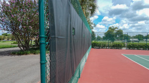 Aug 2, 2014 - new green mesh on tennis courts at North Court Complex in Kings Point