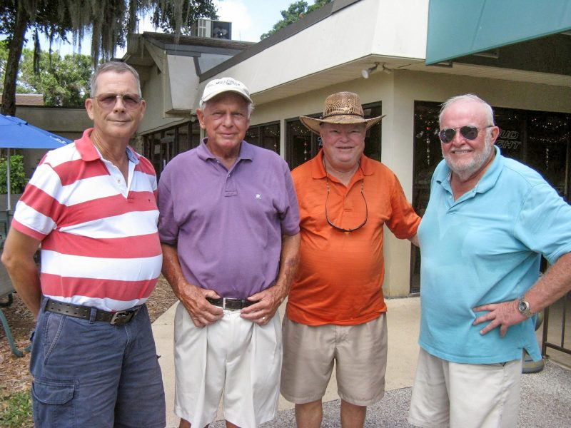 Left to Right: Bill Barron, Don Mowry, Jerry Egger, and Rich Lucidi | Hogans Golf Club of Sun City Center & Kings Point