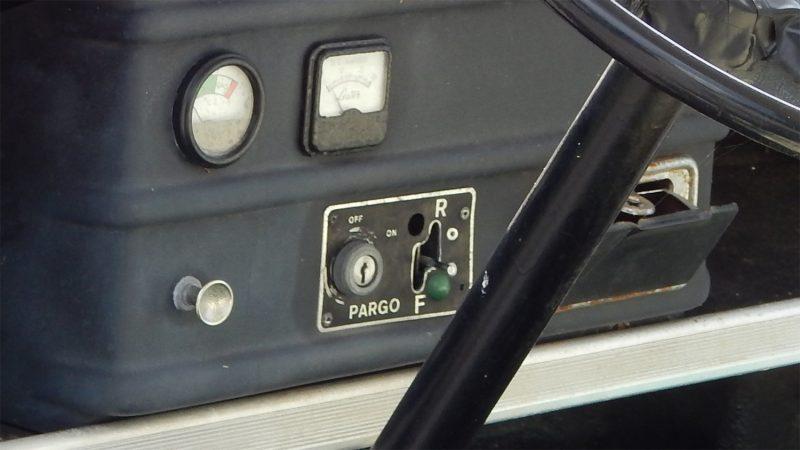 Pargo Dashboard In Golf Cart