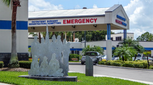 Aug 13, 2014 - South Bay Hospital Emergency Entrance, Registration, Admitting, Outpatient portico