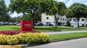 Aug 13, 2014 - South Bay Hospital entrance off of 674, Sun City Center, FL