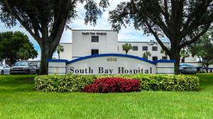 Aug 13, 2014 - South Bay Hospital parking lot from sidewalk along Sun City Center Blvd