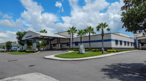 Aug 13, 2014 - South Bay Hospital with Ambulance Entrance, Sun City Center, FL