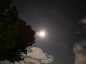 Aug 9, 2014 - night before Supermoon