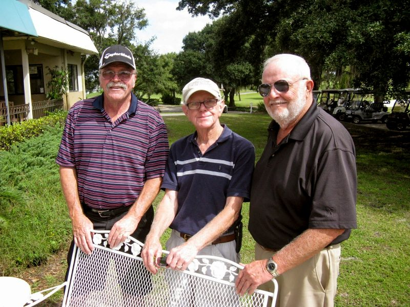 Left to right: Paul Swakow, Hank Smythe, and Rich Lucidi |Hogans Golf Club of Sun City Center & Kings Point at Sandpiper Golf Course