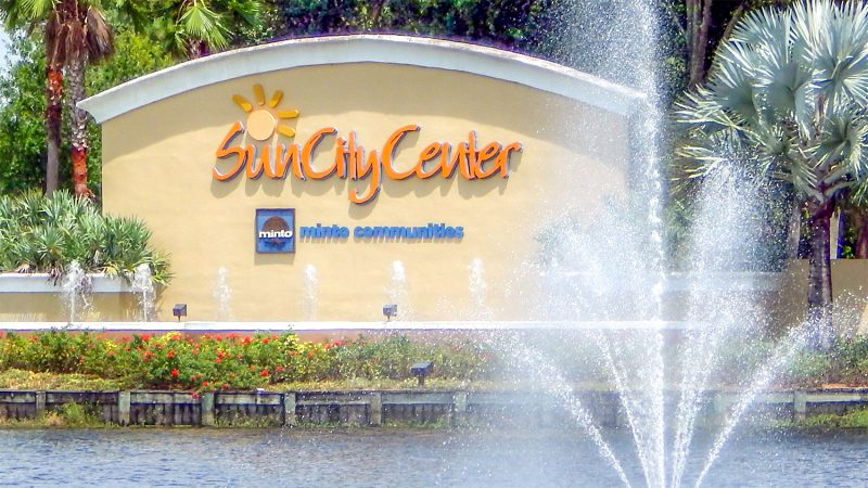 Sign Sun City Center Minto Communities