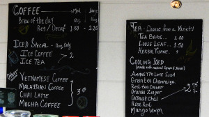 Coffee & Tea Menu at Cafe Di Luna, Sun City Center, FL 33573