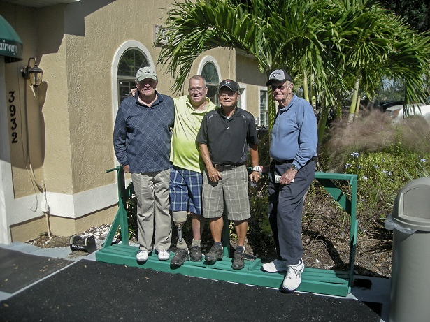 L to R : Bill Giblin, Steve Belknap, Ray Bui, and Bob Hull | Hogans Golf Club