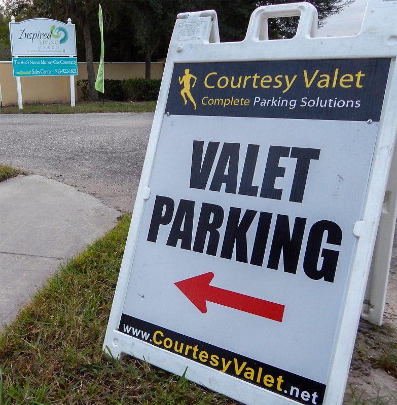 Courtesy Valet at Grand Opening of Inspired Living at Sun City Center FL Jan 7, 2015