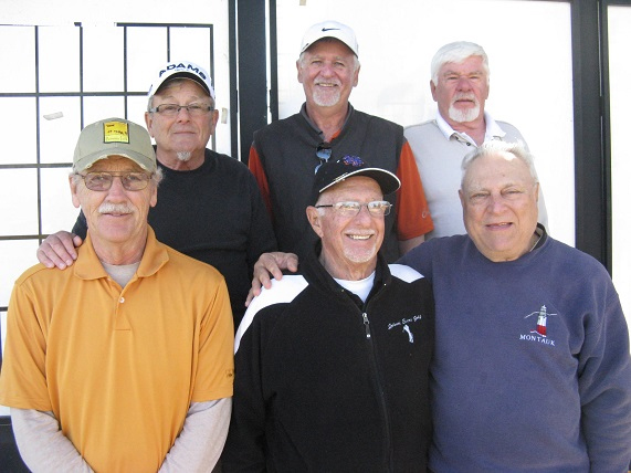 Back L to R Tom Rosata, Bruce Hawkins, and Jack Hugill, Front L to R  Dan Stephens, Doc Lamiano, and Vic Scodese