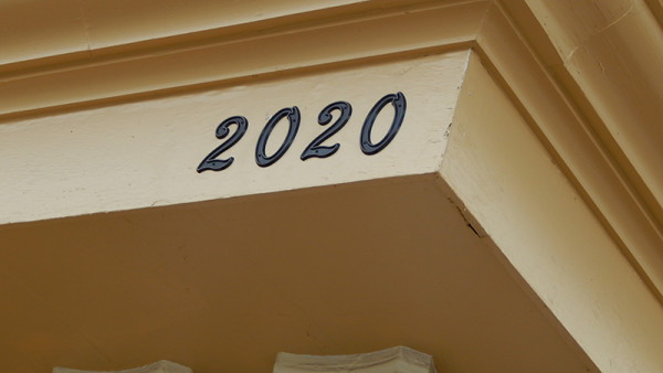 2020 Center with address 2020 on building in Kings Point - hence the name
