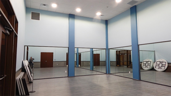 Group fitness and aerobics Room at 2020 Center, Kings Point