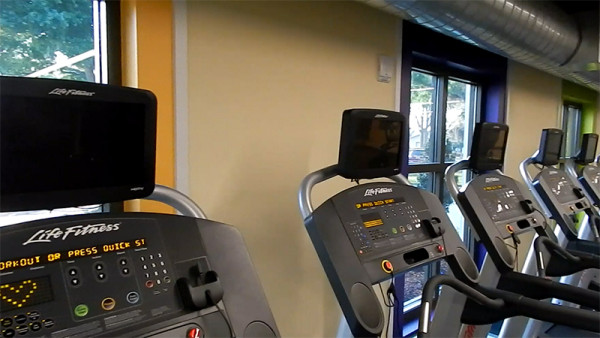 Life Fitness Treadmills at Kings Point Fitness Center 2020