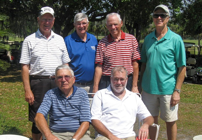 Standing L to R Denny Sutphen, Bob Wright, Tom Kirchen, and Doug McFaul, Seated L to R Erwin Karl and Steve Belknap