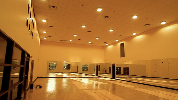 ballroom exercise room at 2020 Center Building