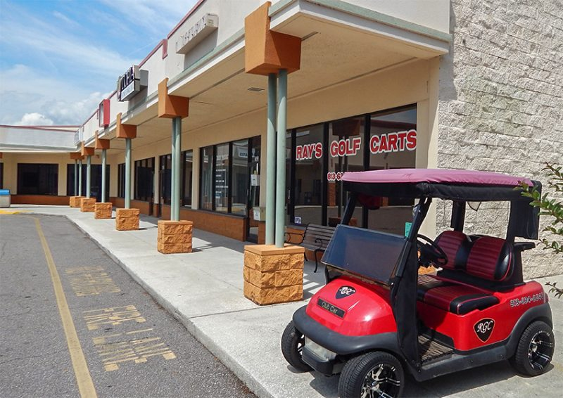 Rays Golf Carts moved to 761 Cortaro Rd in Sun City Center, FL