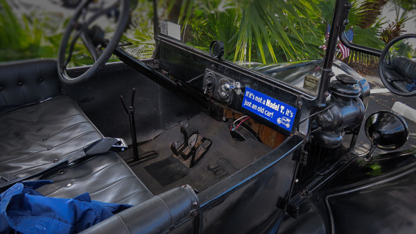 "Feb 22, 2016 - Model T dash board with sticker that reads, ""If its not a Model T, it's just an old car"" by suncitycenterphotos.com"