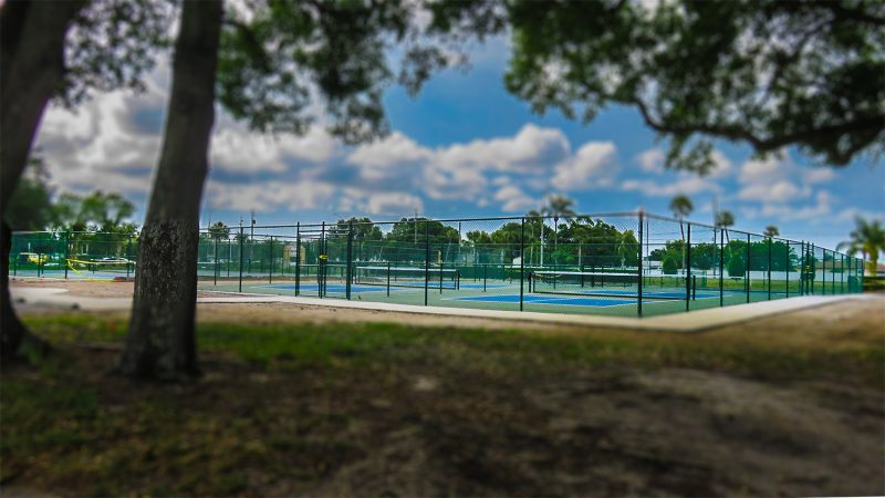 April 22, 2016 - Pickleball courts, Kings Point Sun City Center, FL/suncitycenterphotos.com