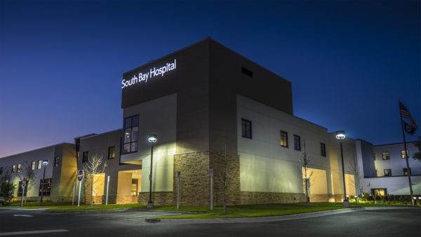 Feb 2017 - South Bay Hospital long exposure in Sun City Center, FL/suncitycenterphotos.com