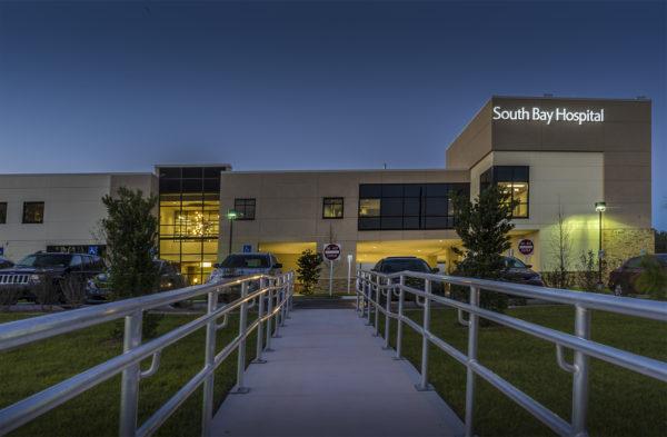 Feb 2017 - South Bay Hospital side walk leading to ER/suncitycenterphotos.com