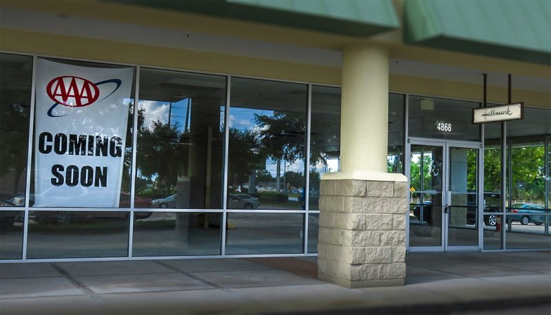 AAA moving to Publix shopping center Sun City Center, FL